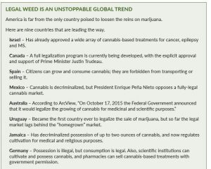 Cannabis around the globe