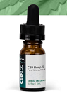 ISO Tincture in 10 ml bottle from 500 mg to 2500mg CBD