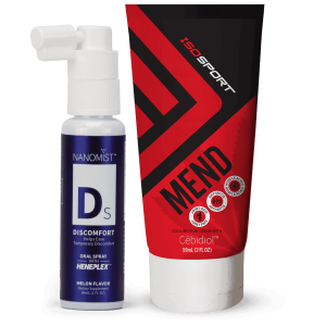 Discomfort Oral Spray and ISO Sport MEND value combo