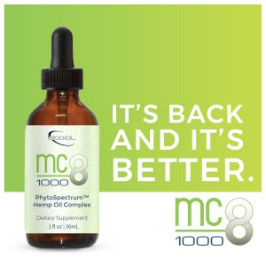 MC8 1000 PhytoSpectrum™ Hemp Oil Complex