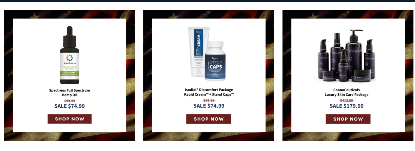 3 sale Items for Memorial Day