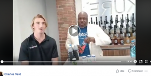 Charles Vest and Connor Talk about Aquivita on FaceBook