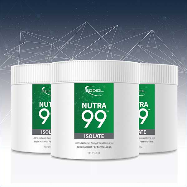 Nutra 99 Hemp Isolate from Isodiol