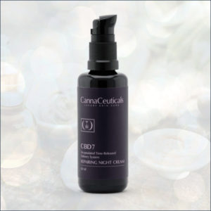 Cannaceuticals Repairing Night Cream by Isodiol