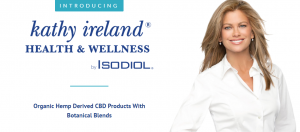 KathyIreland Health and Wellness products by Isodiol