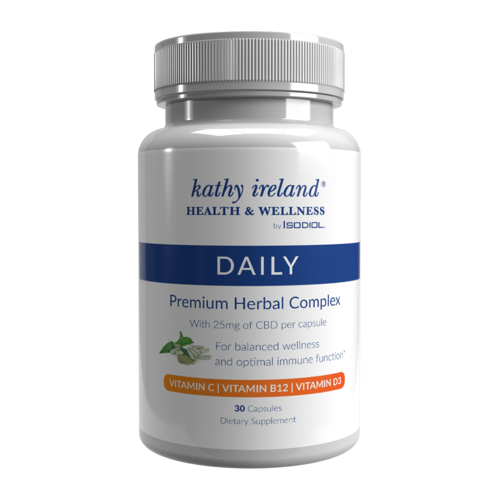 Daily multi vitamin capsule with CBD