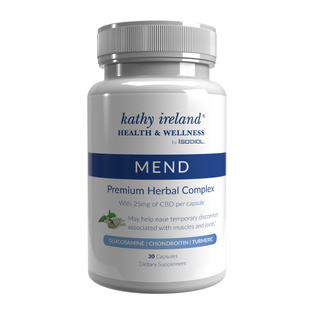 Mend capsules with CBD