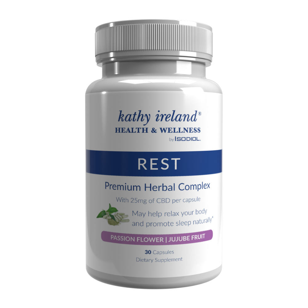 Rest capsules specially formulated with CBD
