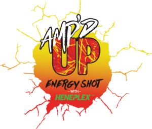 AmpedUP Logo by cbdxtreme and isodiol