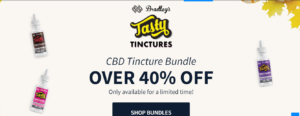 Bradleys Brands tasty Tincture 3 paks