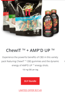 CBDXTREME CHEW-IT N AMPED UP BUNDLE