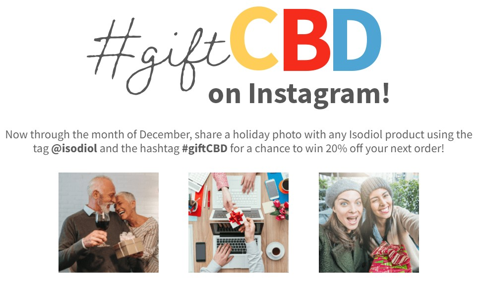 #GiftCBD on Instagram!