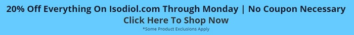 Banner Ad for 20% off at Isodiol