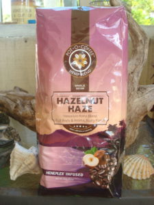 Pot-o-Coffee Hazelnut Haze Heneplex Infused coffee beans