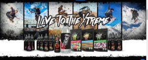 live to the xtreme CBDXTREME BANNER