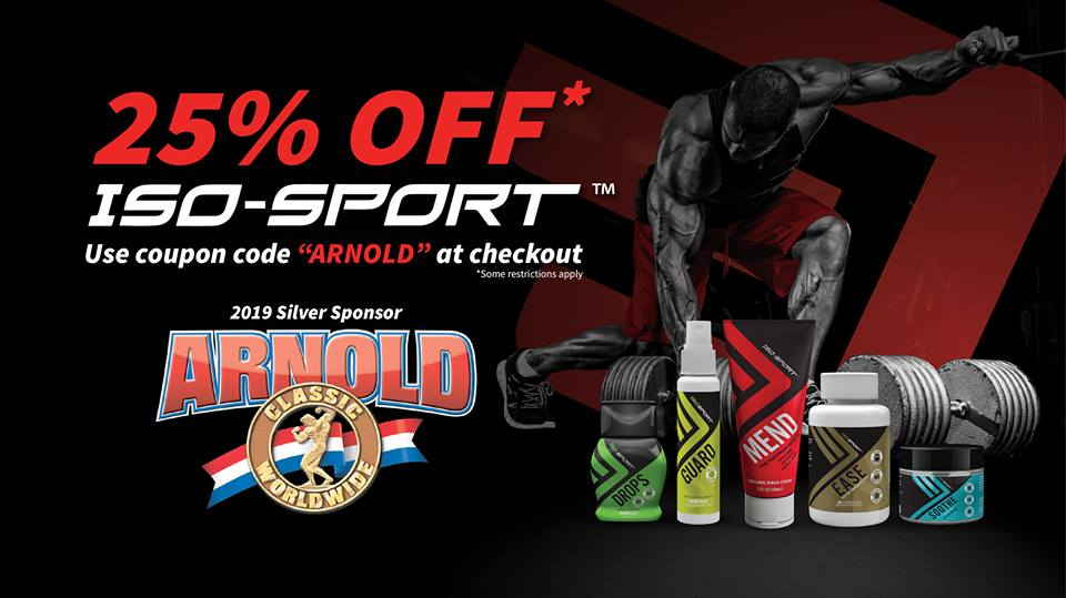 25% OFF ISO-SPORT