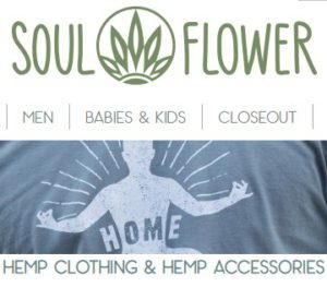 Soul Flower 100% Hemp Clothing
